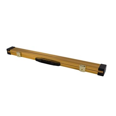2pce-Aluminium-Cue-Case---Gold