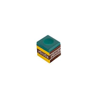 Pioneer-Billiard-Chalk-(1-piece)---Green