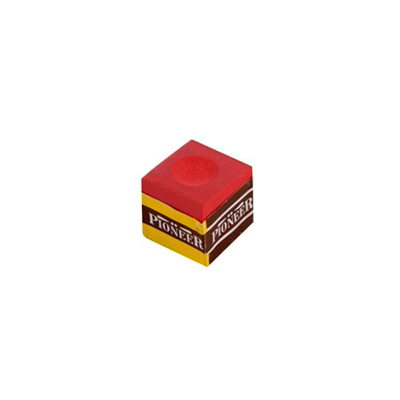 Pioneer-Billiard-Chalk-(1-piece)---Red