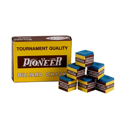 Pioneer-Billiard-Chalk-(Box-of-12)---Blue