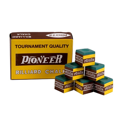 Pioneer-Billiard-Chalk-(Box-of-12)---Green