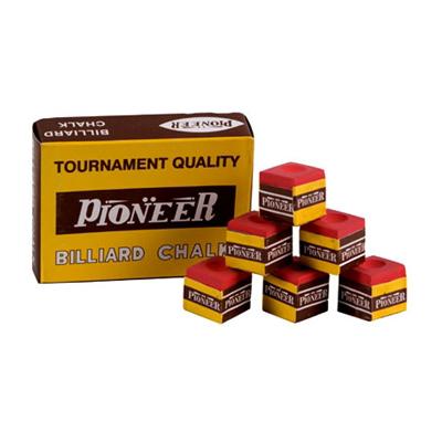 Pioneer-Billiard-Chalk-(Box-of-12)---Red